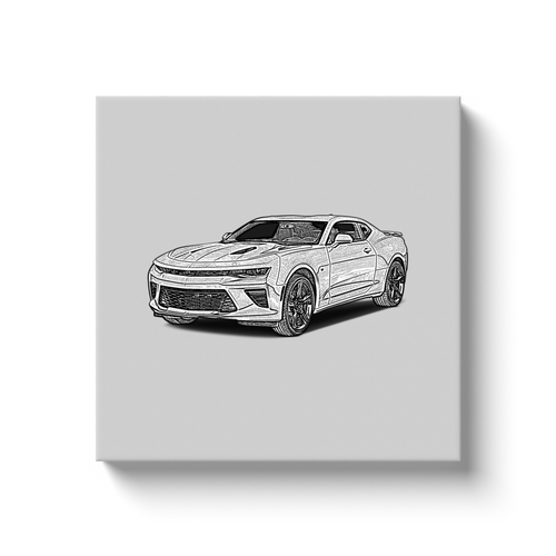 Chevrolet Camaro (6th Generation) Canvas Print