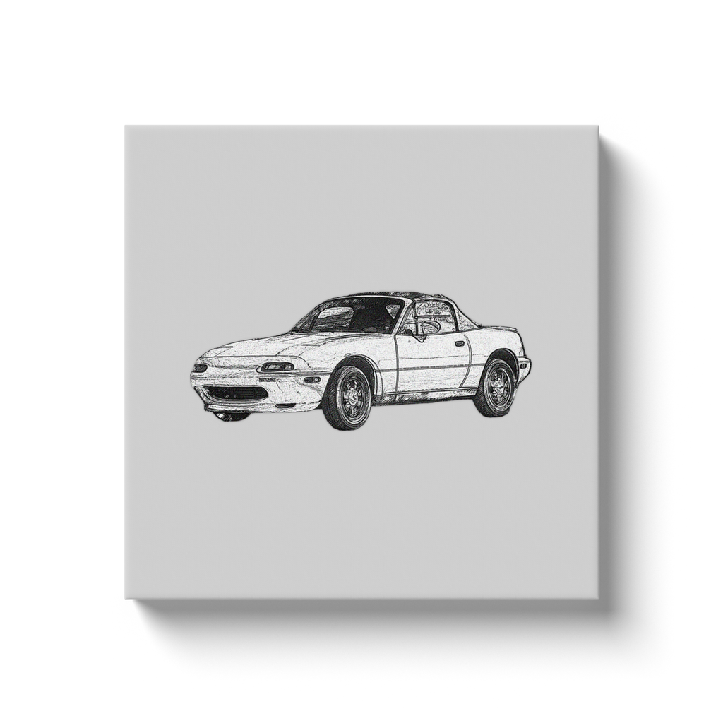 Mazda MX-5 Miata (NA) Canvas Print