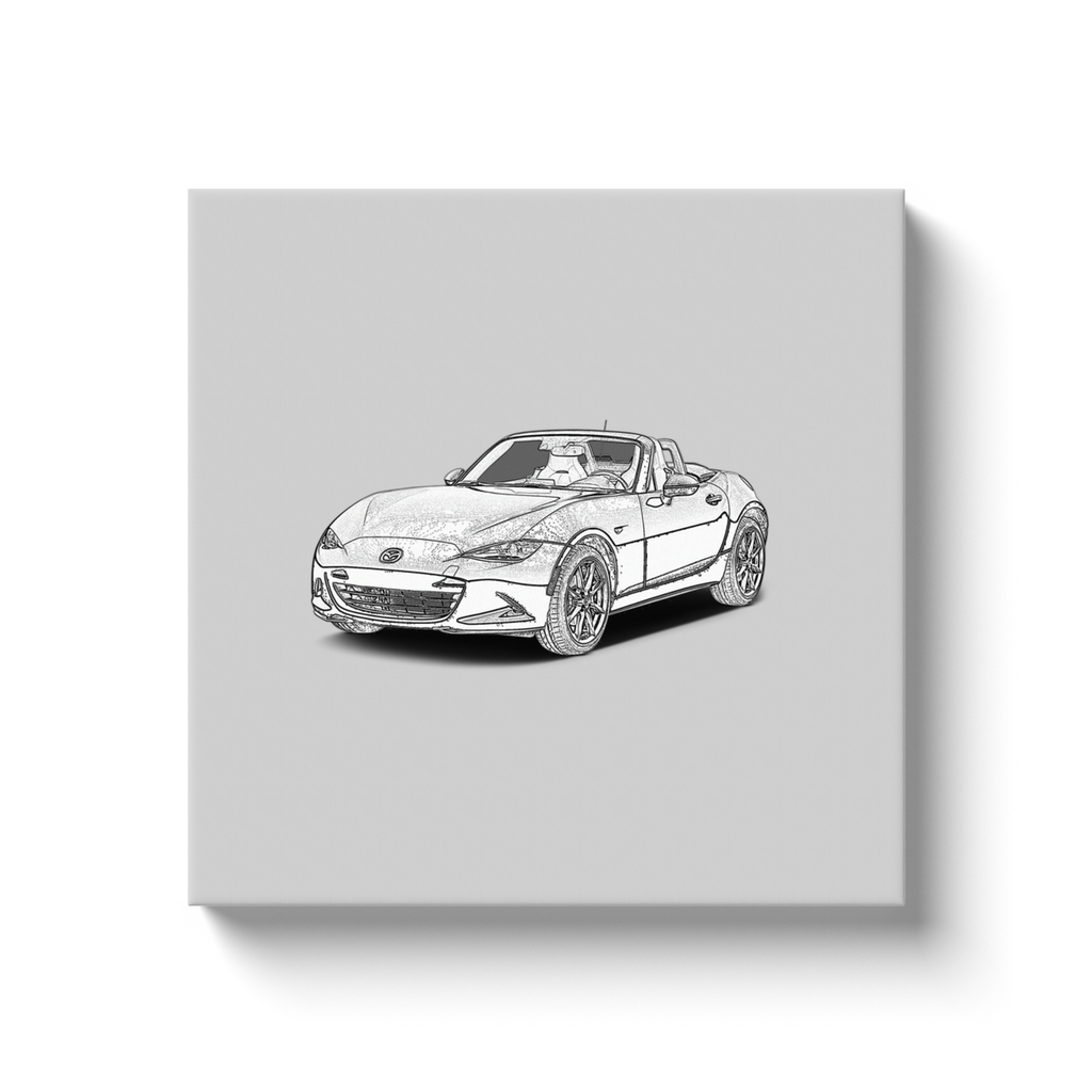 Mazda MX-5 Miata (ND) Canvas Print