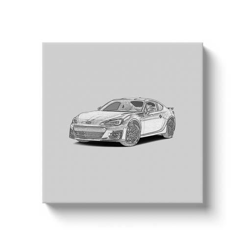 Subaru BRZ (First Generation) Canvas Print