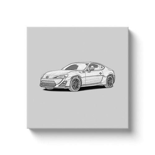 Scion FR-S Canvas Print