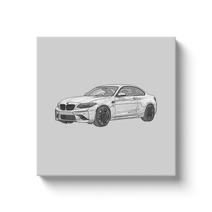 BMW M2 (F87) Canvas Print