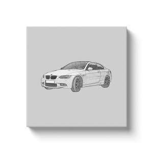 BMW M3 (F92) Canvas Print