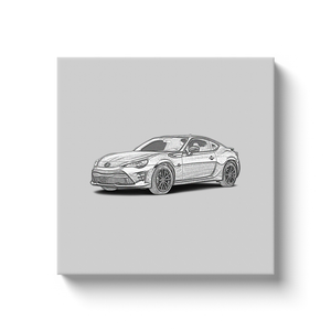 Toyota 86 (First Generation) Canvas Print