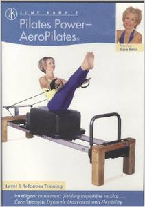Pilates Power (DVD) for Beginning Reformer by June Kahn
