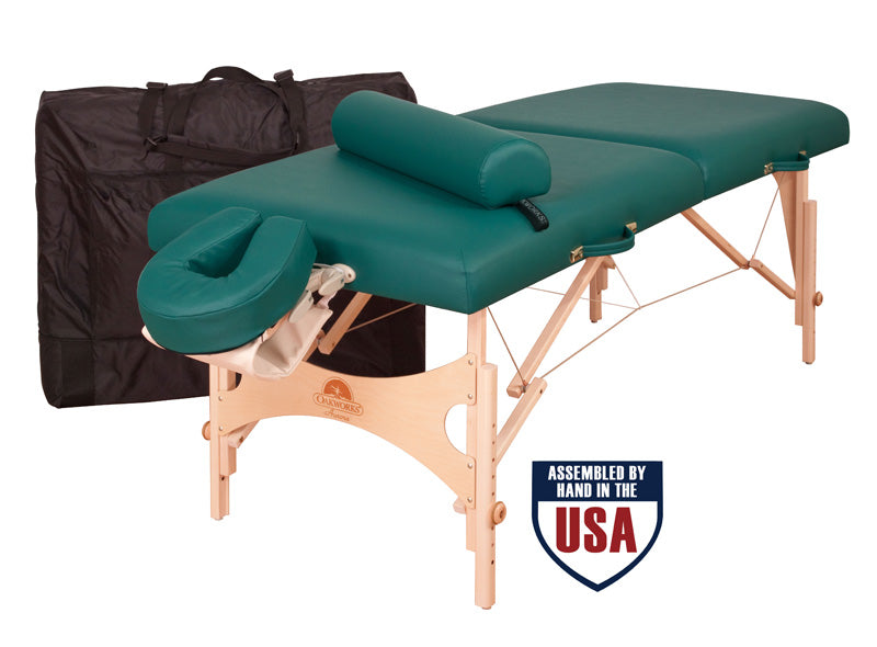 Oakworks Aurora Professional  Portable Massage Table Package