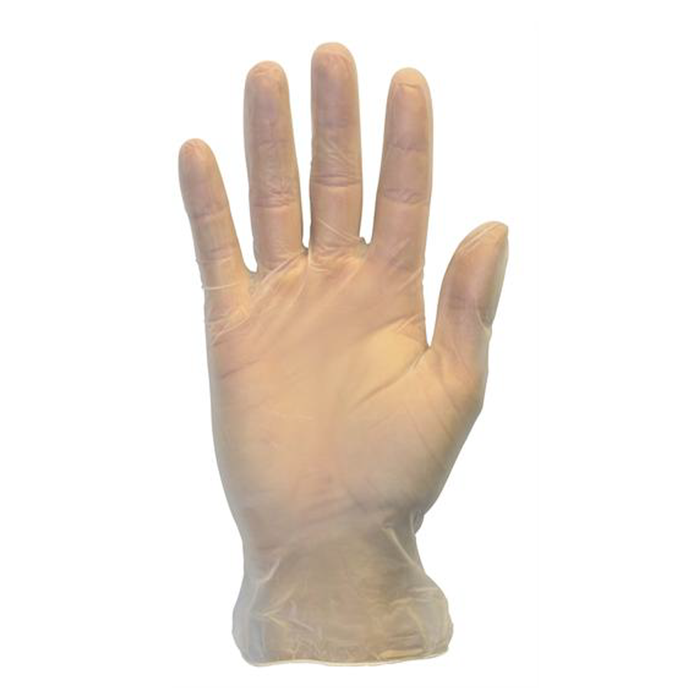 non-latex vinyl exam gloves