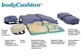 bodyCushion Orthopedic Face Down Support Cushion Set