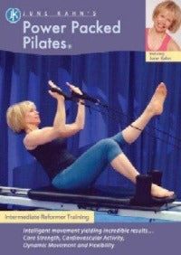 Power Packed Pilates (DVD) for Intermediate Reformer by June Kahn