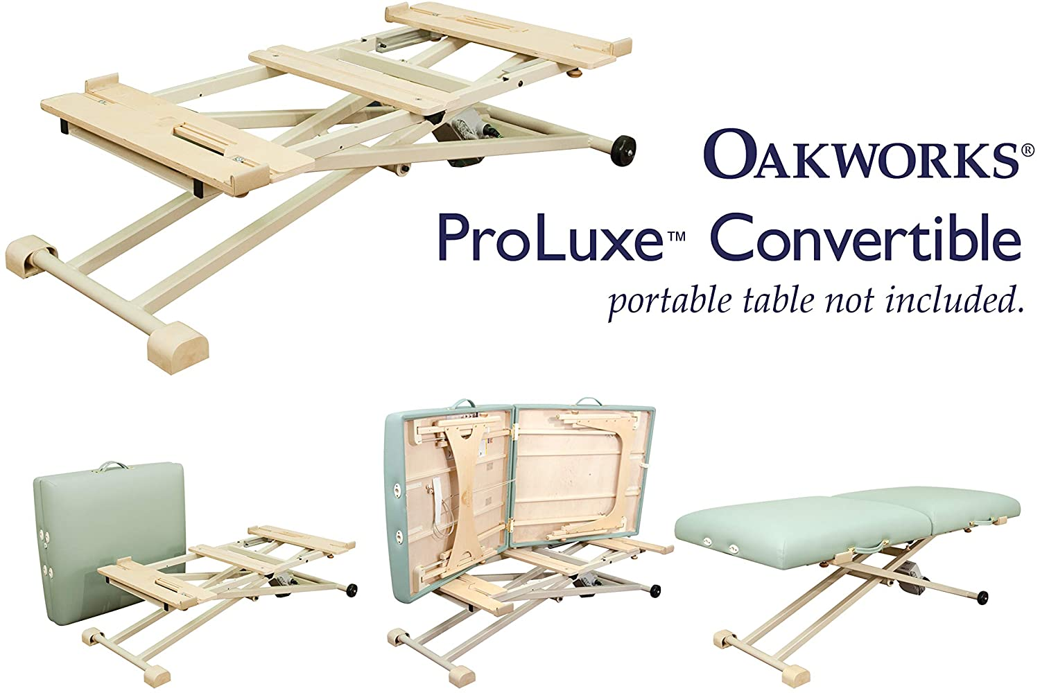 Proluxe Massage Table Lift Unit (portable table sold separately)