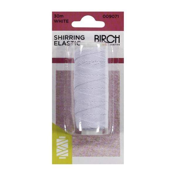 Birch Shirring Elastic