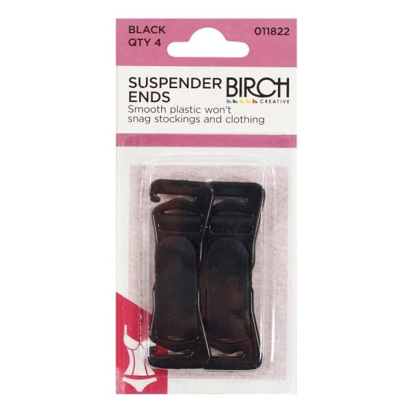 Birch Suspender Ends