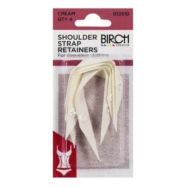 Birch Shoulder Strap Retainers
