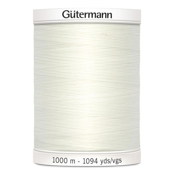 Guterman Polyester Sew-All Thread - 1000m