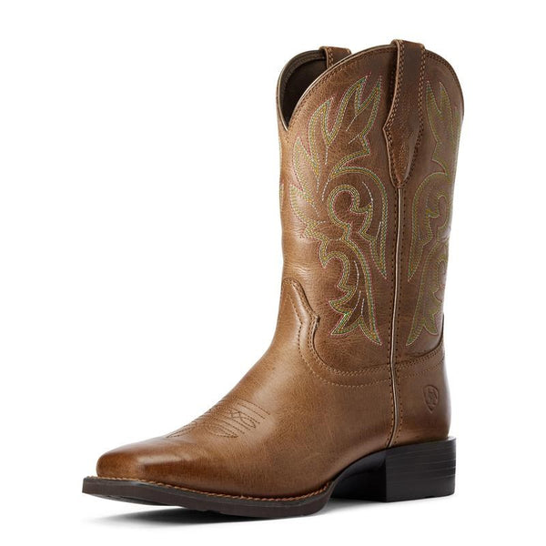 Ariat Womens Cattle Drive Dusty Brown Boots