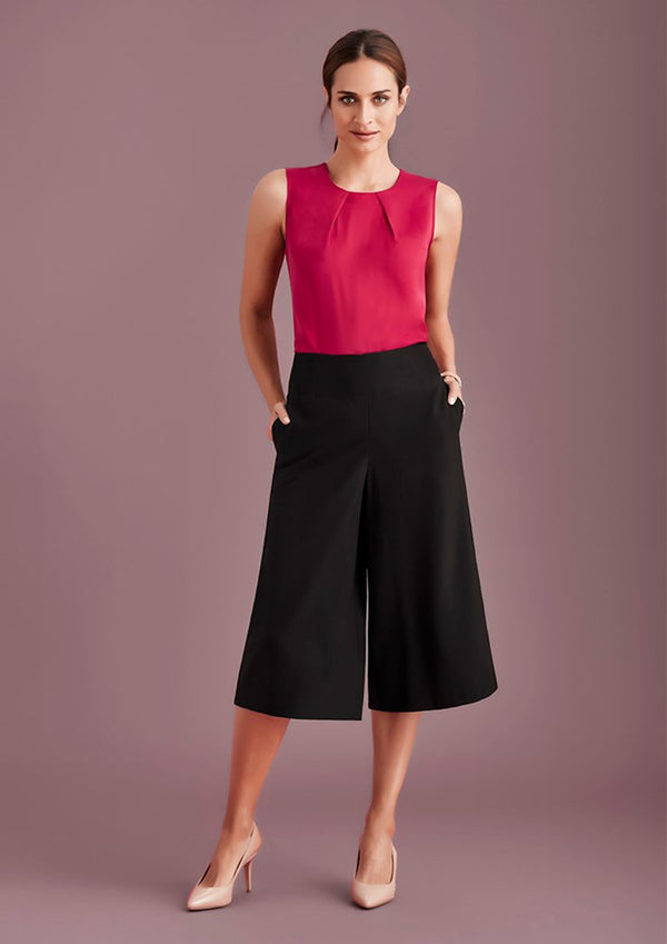 Biz Collection Womens Mid-Length Culottes