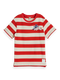 Scotch & Soda Striped Piqué T-shirt | Keoni