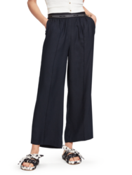 Scotch & Soda Womens Wide Leg Trouser