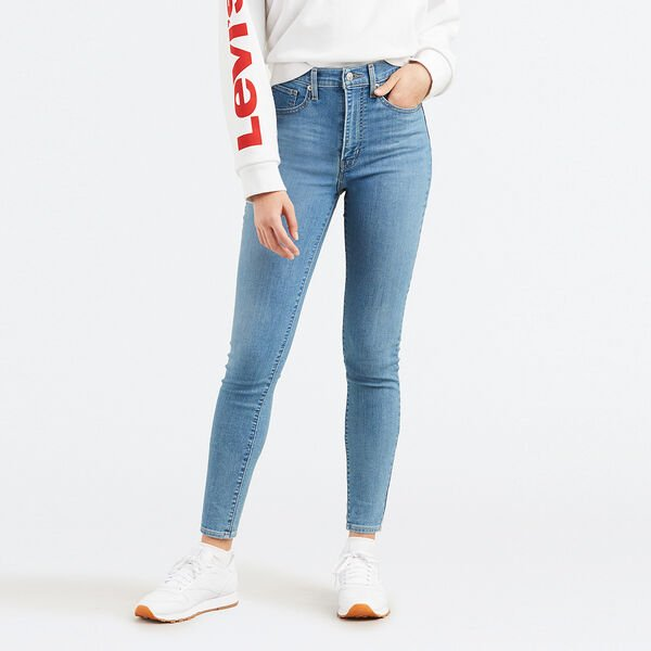 Levis Mile High Super Skinny Jeans (Math Club)
