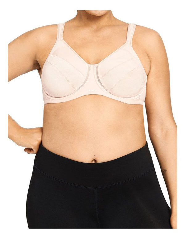Berlei Full Support Non Padded Sports Bra (Nude)