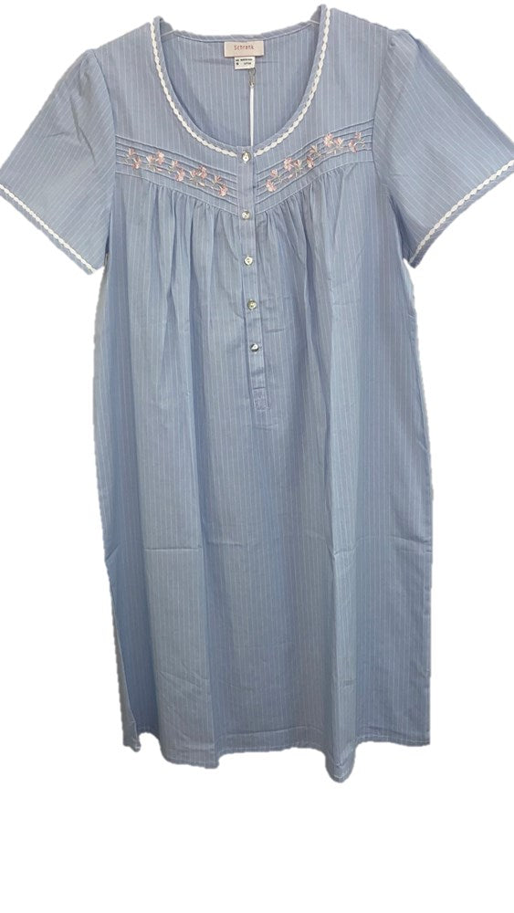 Schrank Penny Short Sleeve Cotton Woven Nightie