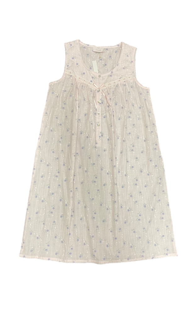 Schrank Ameila Sleeveless Cotton Woven Nightie