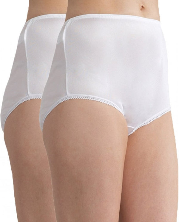Baselayers Nylon Full Brief - 2pack