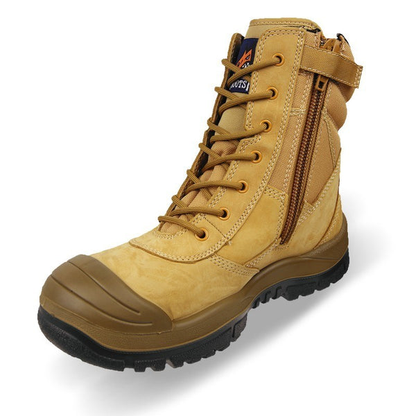 Mongrel 451050 Wheat High Leg ZipSider Boot