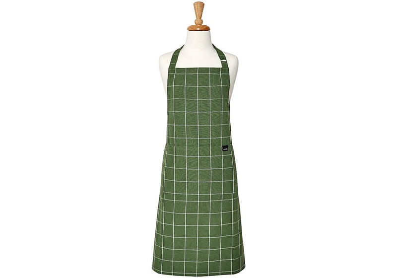 Eco Check Charcoal Apron