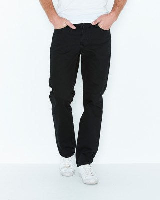 Levis 516 Straight Fit Jeans (Black Rinse)