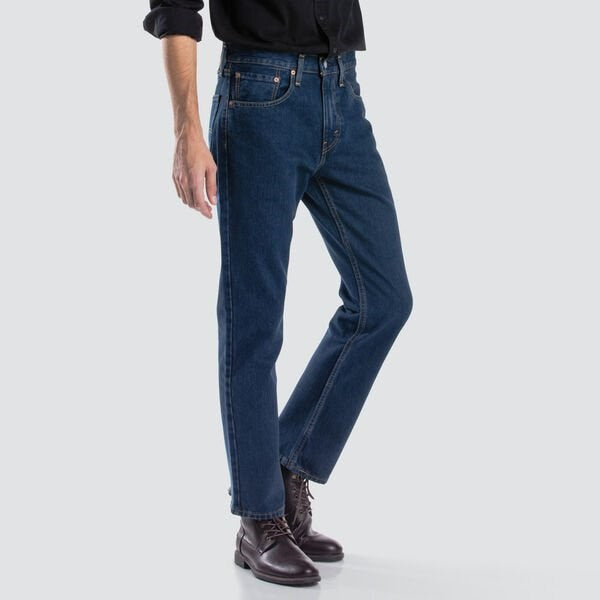 Levis 516 Straight Fit Jeans (Blue Black)