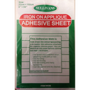 Sullivans Iron On Applique Adhesive Sheet