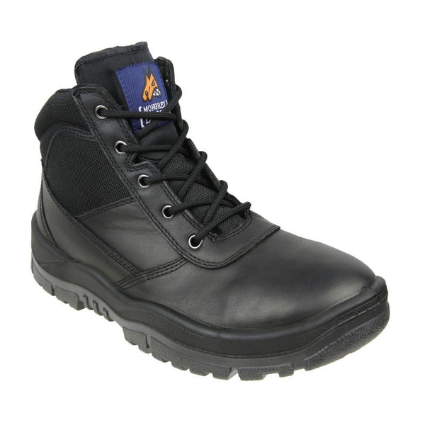 Mongrel 961020 Black ZipSider Boot