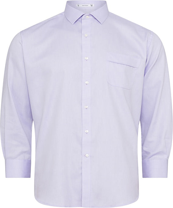 Van Heusen Mens Classic Relaxed Fit Shirt - Lilac