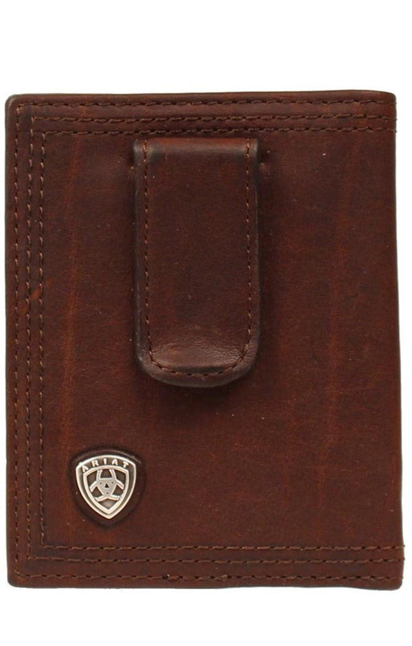 Ariat Bi-Fold Front Pocket Wallet - Clip Shield