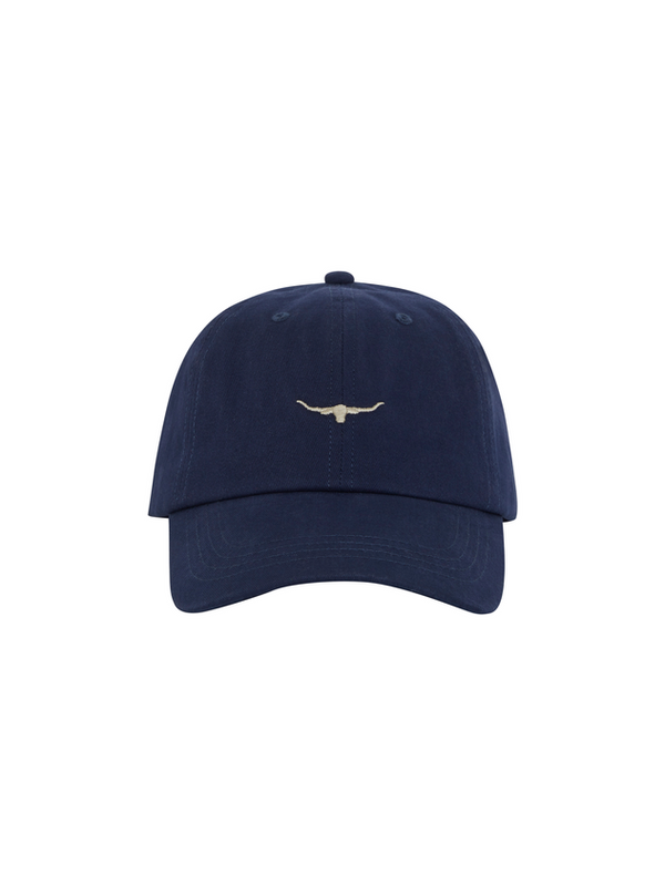 RM Williams Mini Longhorn Cap (Blue Grey)