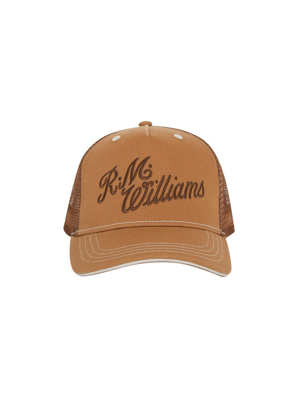 RM Williams Script Trucker Cap