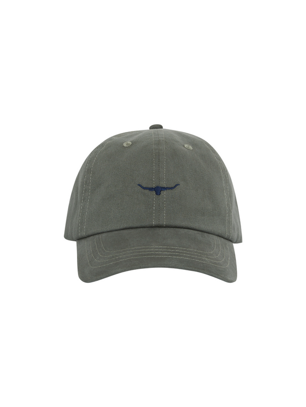 RM Williams Mini Longhorn Cap (Olive Drab)