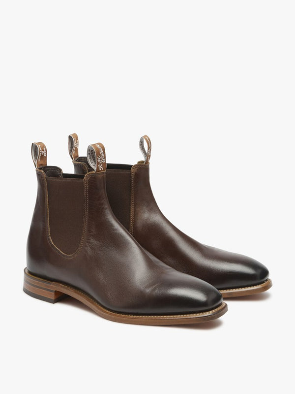 RM Williams Chinchilla Boot - Bordeaux