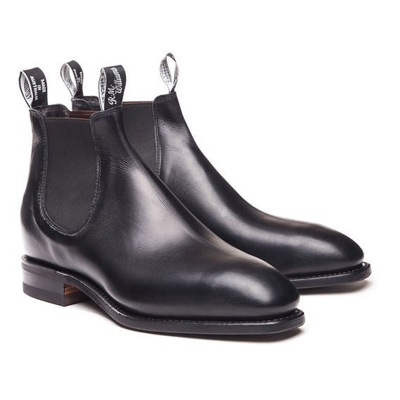 RM Williams Comfort Craftsman - Black