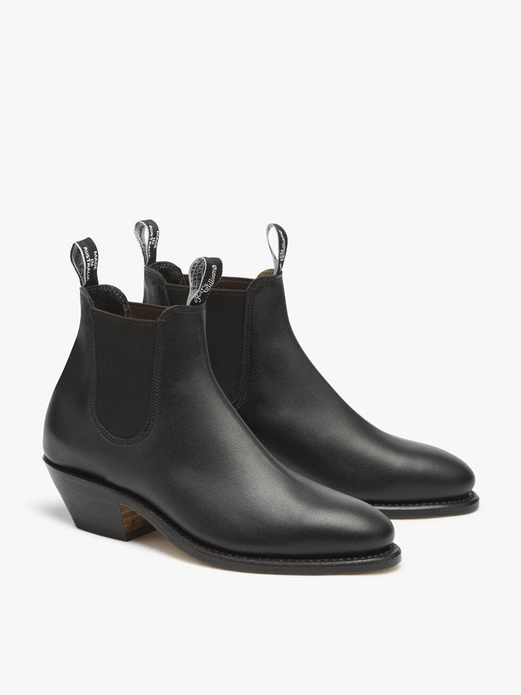 RM Williams Adelaide Cuban Heel Boot - Chestnut