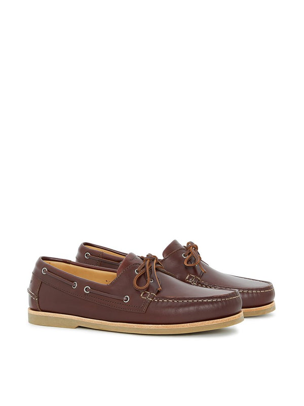 R.M. Williams Hobart Boat Shoe (Brown)