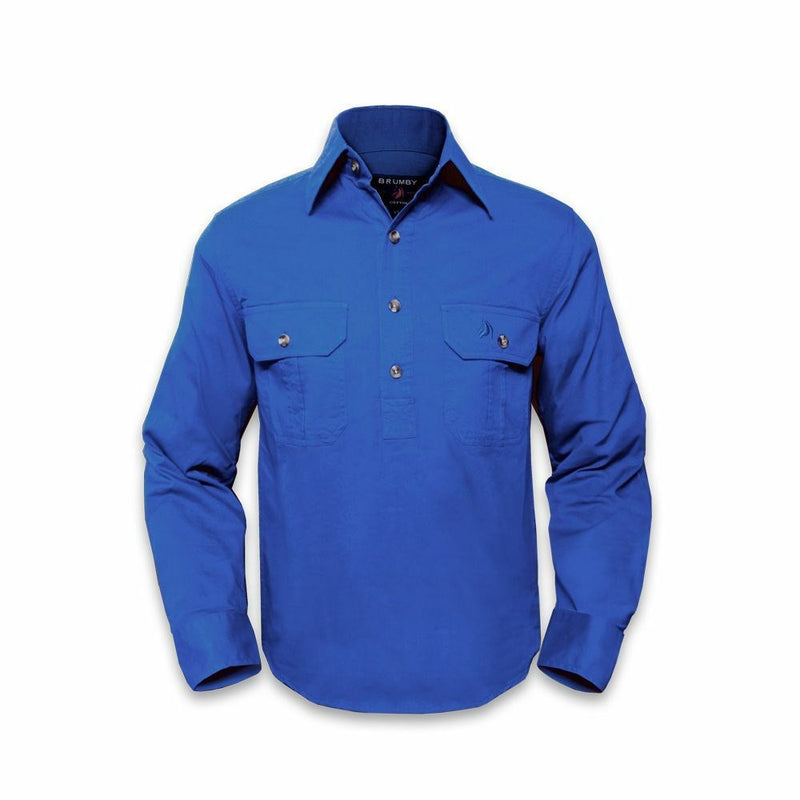 Closed Front Work Shirt