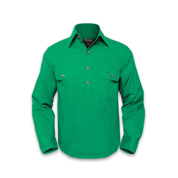 Brumby Closed Front Work Shirt