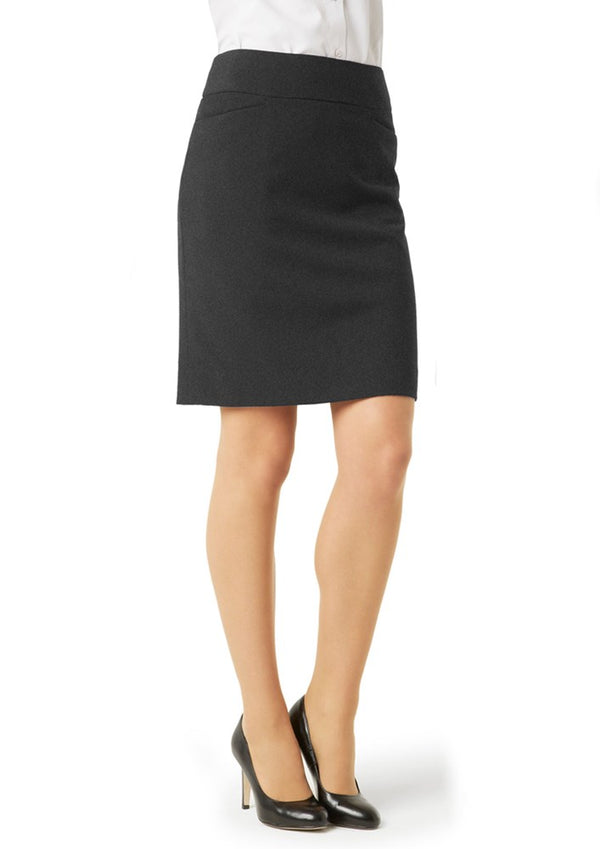 Biz Collection Womens Classic Knee Length Skirt