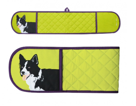 Thomas Cook Border Collie Double Oven Glove
