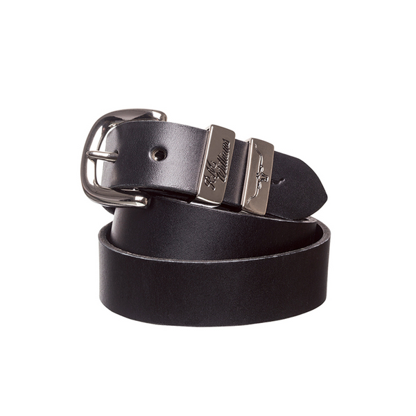 "RM Williams 1 1/4"" 3 Piece Solid Hide Belt"