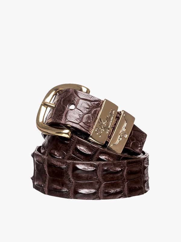 "RM Williams 1 1/2"" Crocodile Belt"