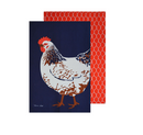 Thomas Cook Chook Tea Towels - 2 Pack