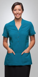 City Collection Stretch Spot Tunic
